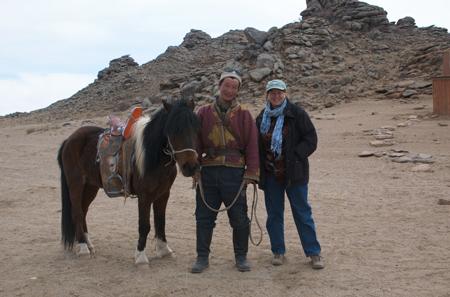 Ikh Nart herder and I