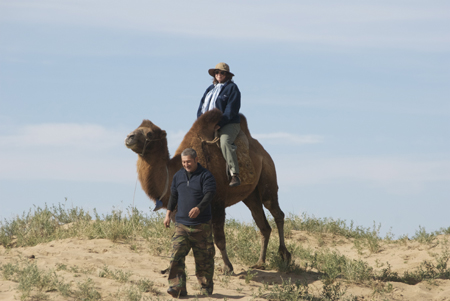My 2008 camel ride
