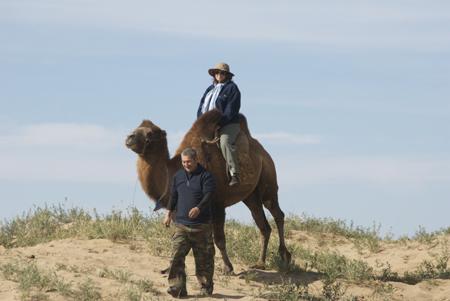 My 2008 camel ride