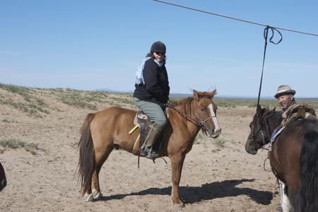 Me on Mongolian horse