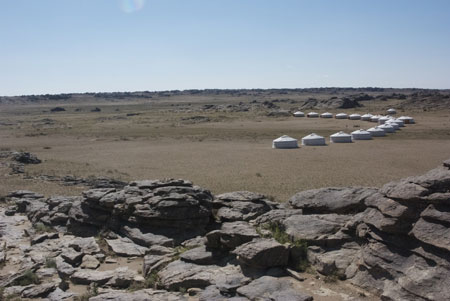 Red Rock Ger Camp