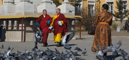 Gandan Monastery, Ulaanbaatar 2006