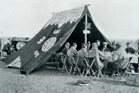Mongol summer tent; Maikhan?