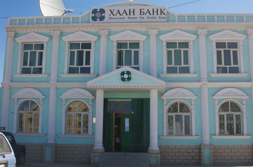 Khaan Bank, Hovd, western Mongolia