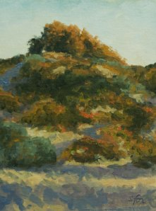"Pismo Beach Sunrise oil 8""x6"""