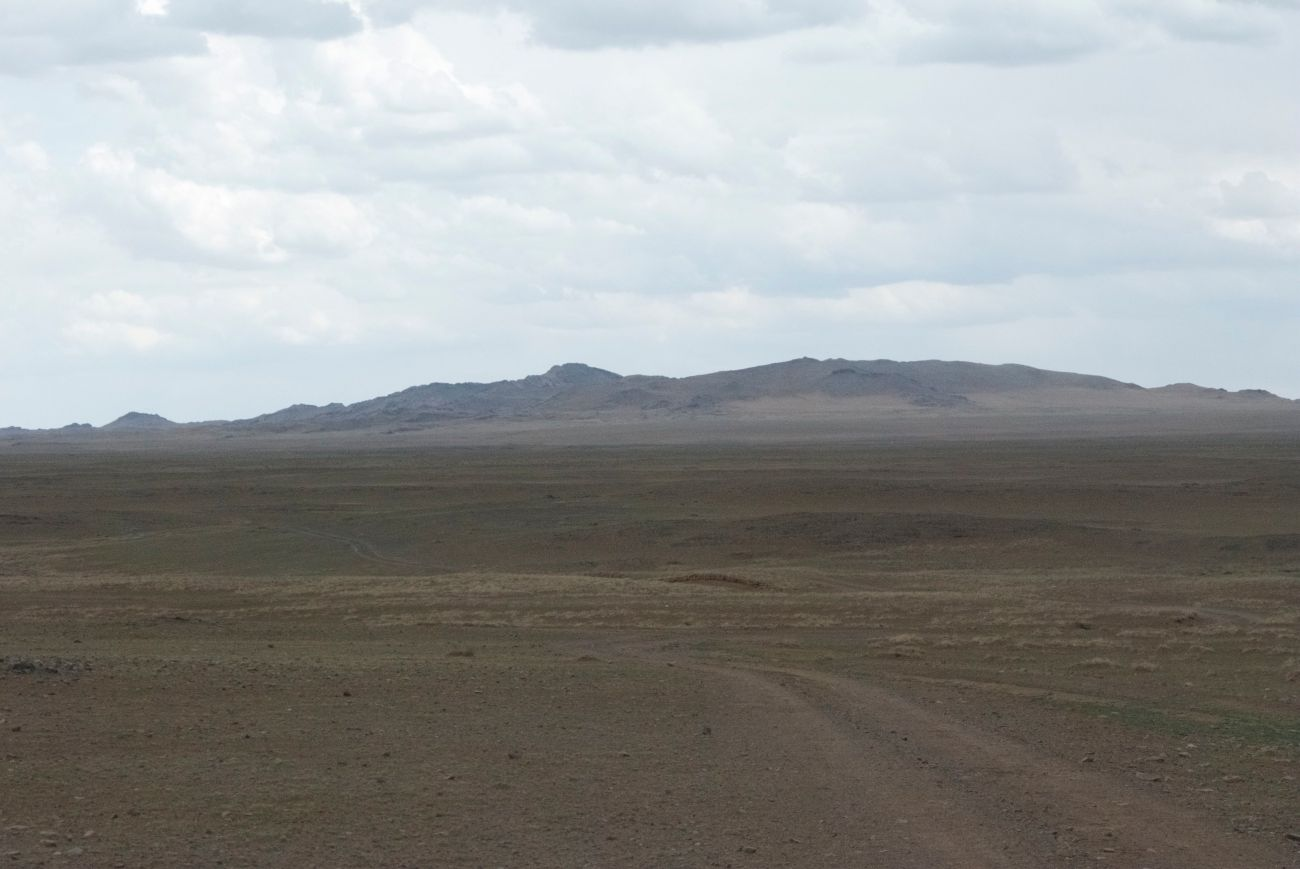 Baga Gazriin Chuluu rises out of the steppe