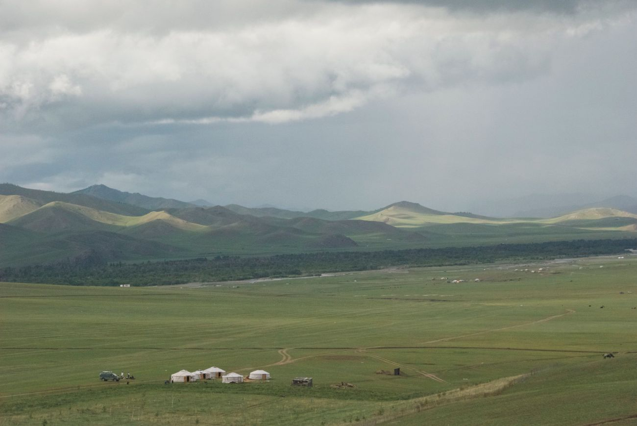 Chinggis' view