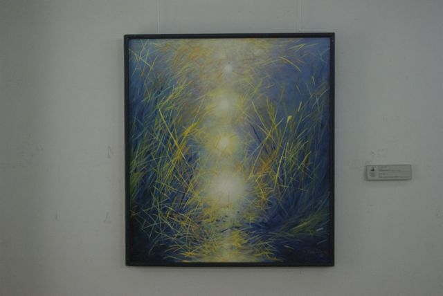 The Light of the Steppe- Sanchir, N.  2002 oil