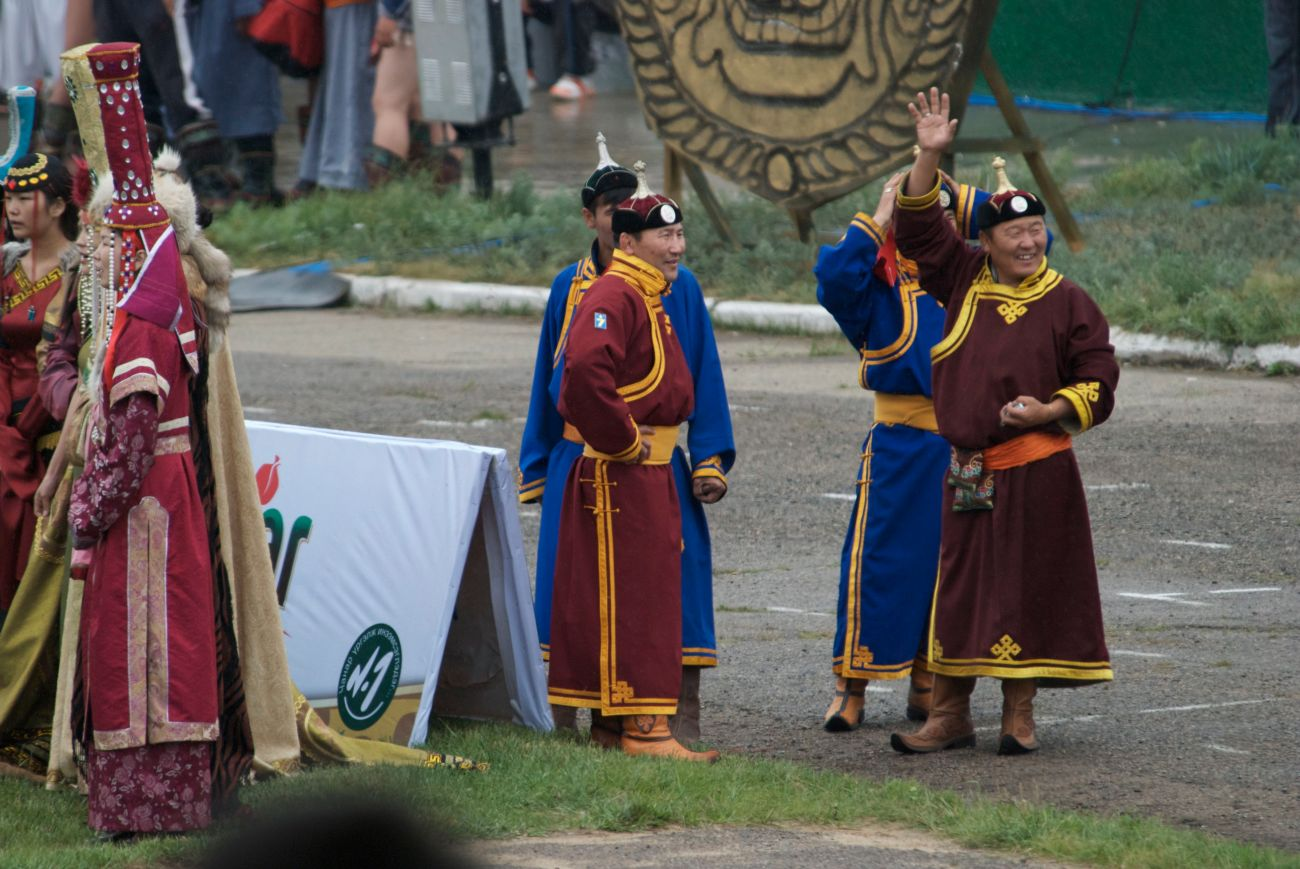 Naadam officials