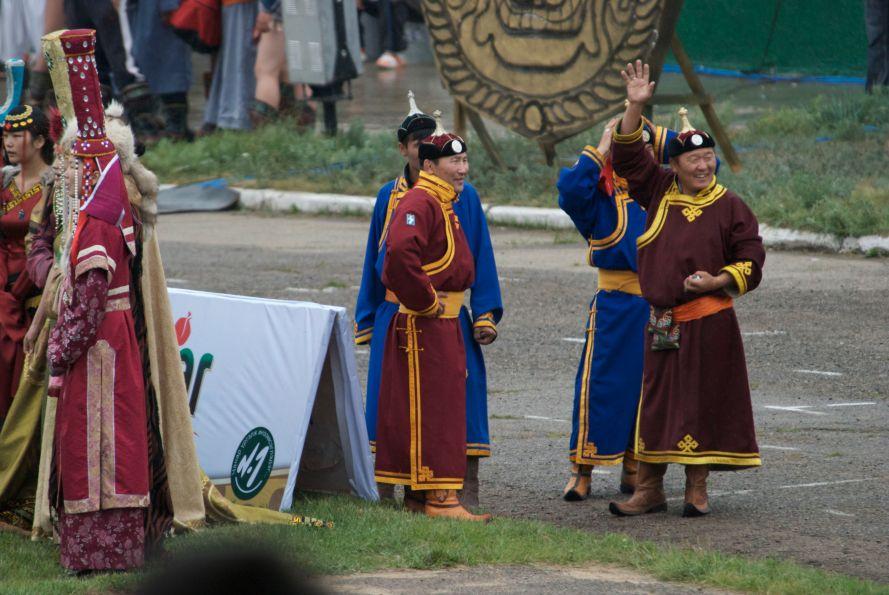 Naadam officials