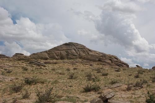 Rock formation, Ikh Nartiin Chuluu Nature Reserve