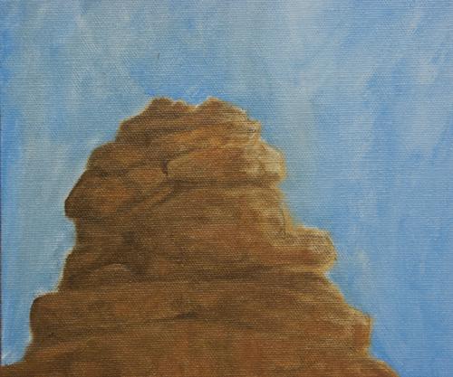 Rock pinnacle detail