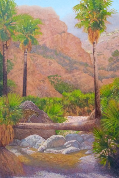 El Tigre (Nacapuli Canyon)  oil  36x24""