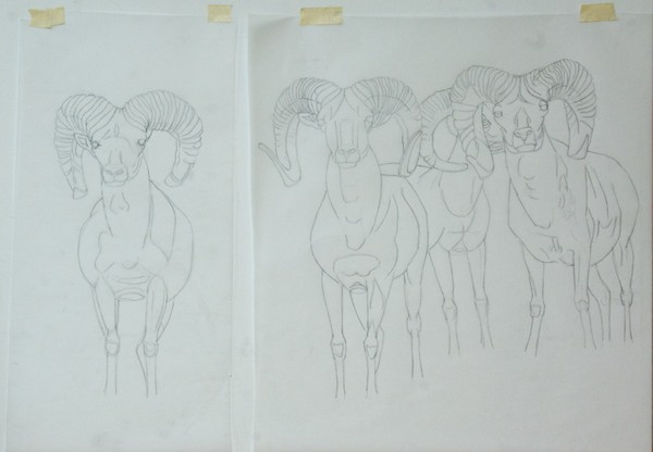 The tracing paper transfer version