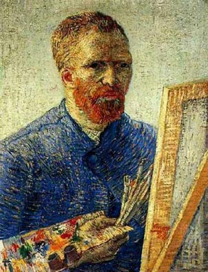 Portrait as an Artist by van Gogh