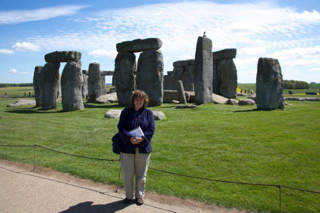 Me at Stonehenge
