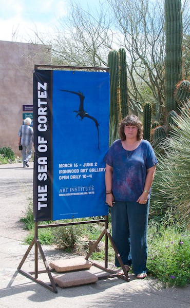 One of the banners which uses an image from my frigate bird triptych