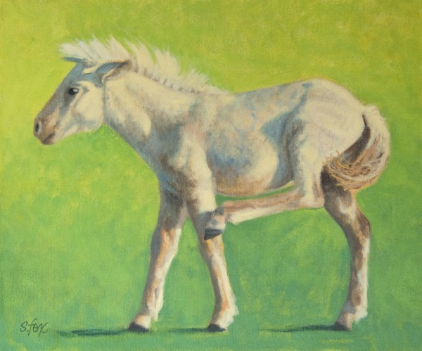 """Scratch That Itch""  10x12""  oil"