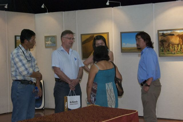 jan Wigsten and a number of staff members from Nomadic Journeys were there