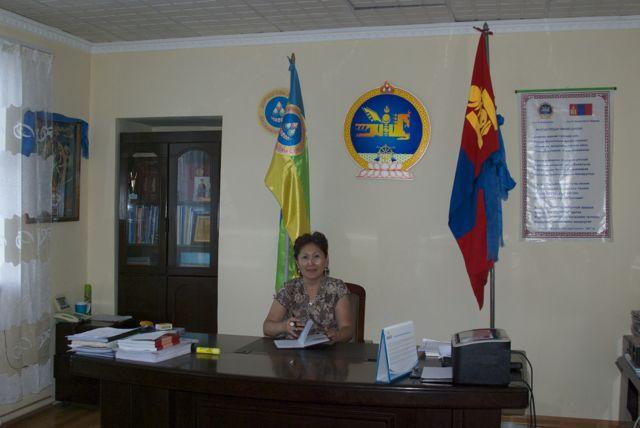 Oyuntsetseg, Governor of Dalanjargalan Soum