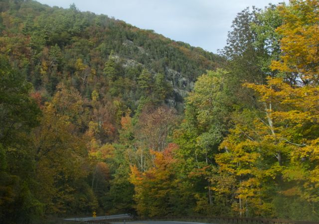 Fall colors, the Adirondacks
