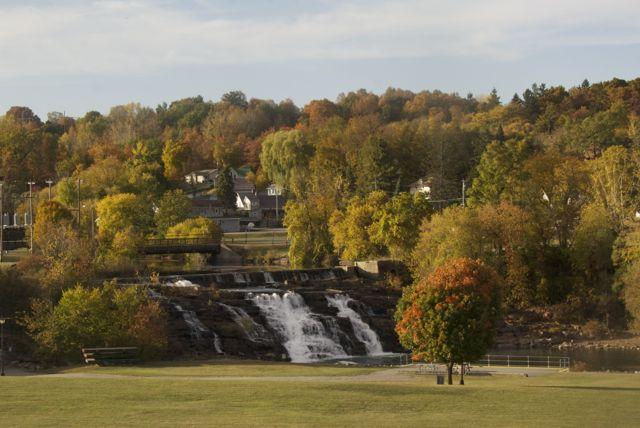 Falls at Ticonderoga