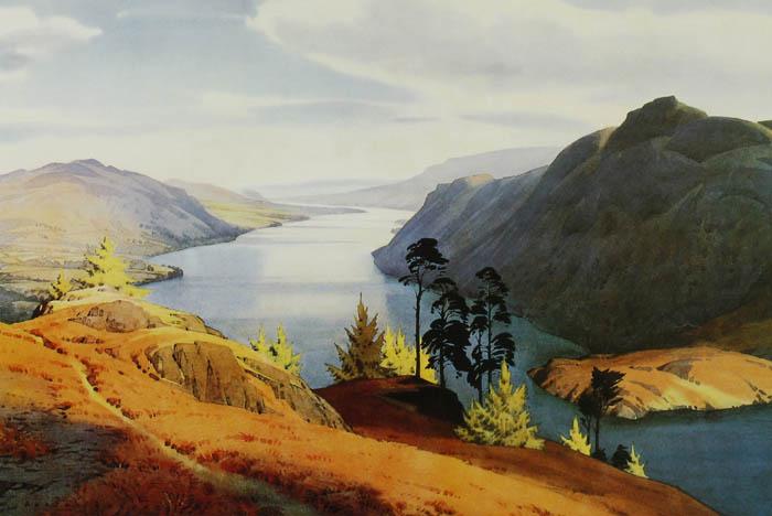 """Ullswater"" by William Heaton Cooper"