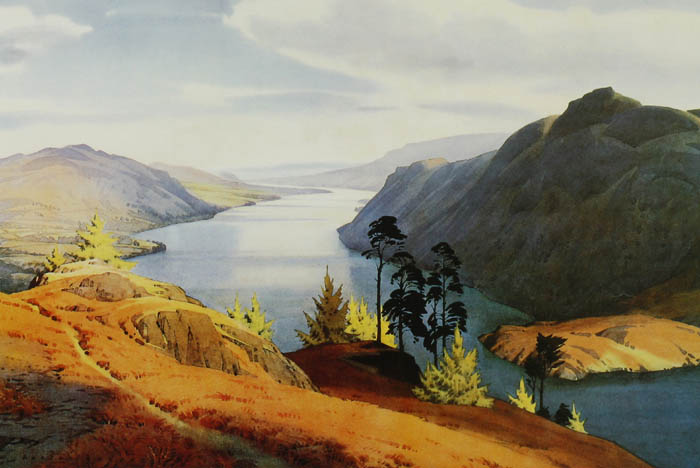 """Ullswater"" by William Heaton Cooper"