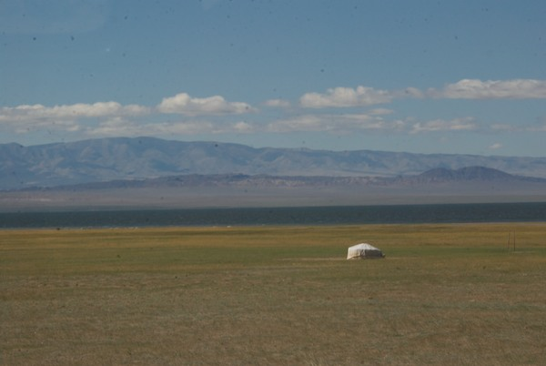The classic landscape of Mongolia....
