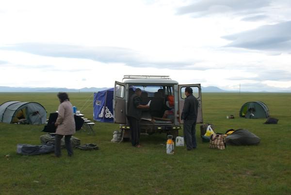 Camping near Arveyheer
