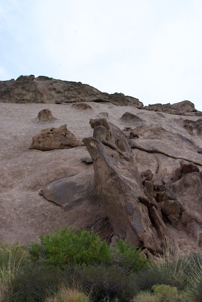 Soon we were among fantastic rock formations.