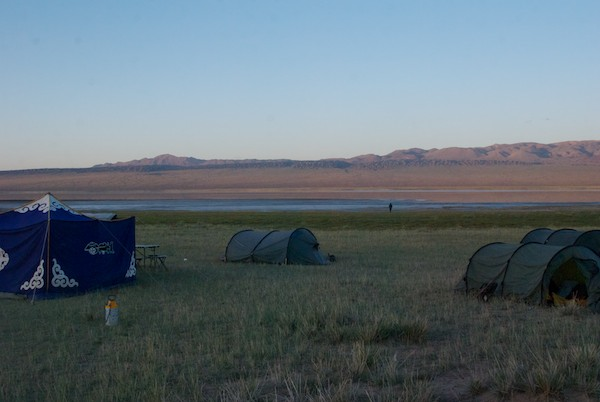 Our camp.