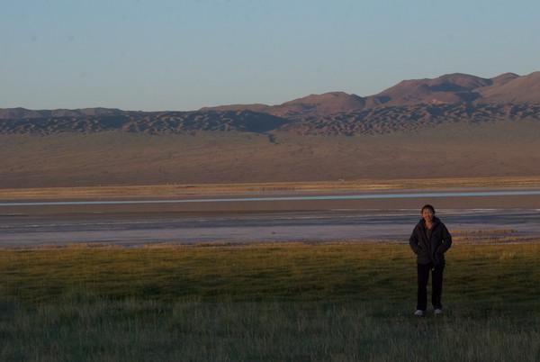 Sunrise at Ihes Nuur