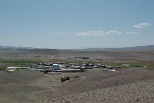 The soum center of Darvi.
