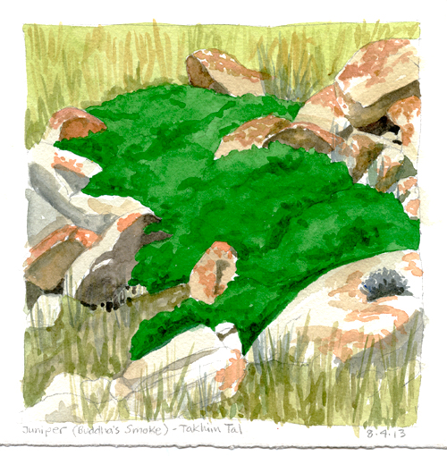 Location watercolor