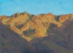 """Gobi Altai Mountains  oil  6x8"""" SOLD"""