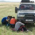 1 B-TH en route car repair