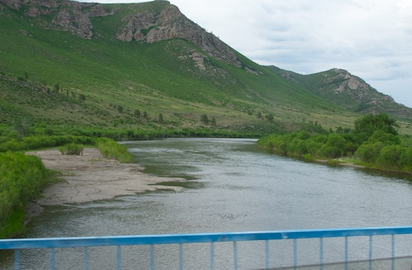 We finally reached our goal for the day...the legendary Onon Gol, the center of the Mongol heartland