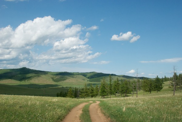 It was a glorious drive deep into the Mongolian countryside on a perfect summer day.