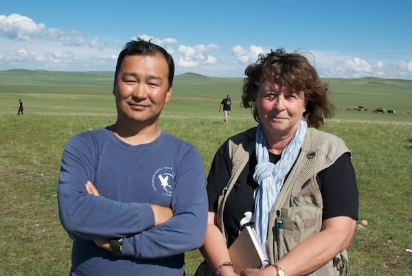 The research project is a collaboration between Mongol, Russian and Chinese scientists. The Mongol scientist in charge is Nyambayar Batbayar