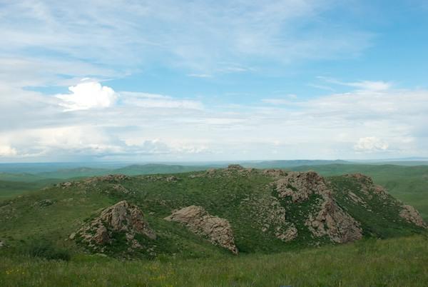Rock Formations at Har Yamaat.