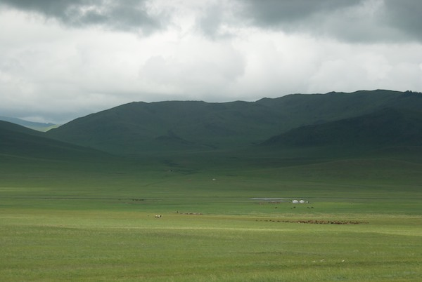 One last look at the quintessential Mongolian landscape that I've grown to love so much.