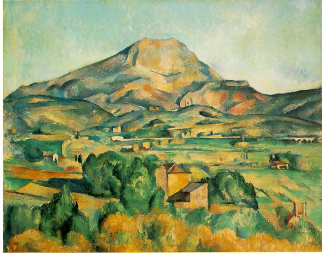 La Montagne Saint Victorie by Paul Cezanne