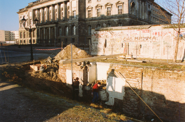 The site of Gestapo headquarters.