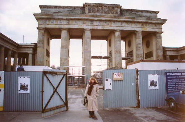 Our first stop was the Brandenburg Gate, which was undergoing repairs and restoration.