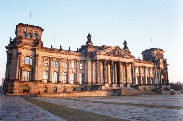 The Reichstag (German parliament building)