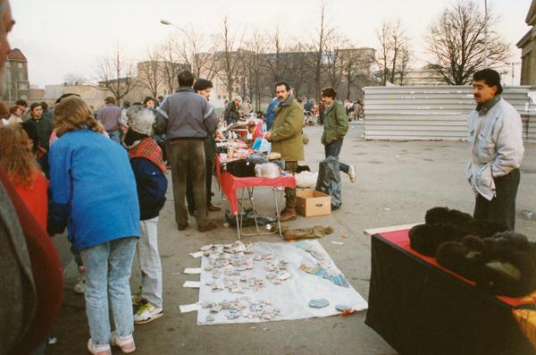 More street vendors.