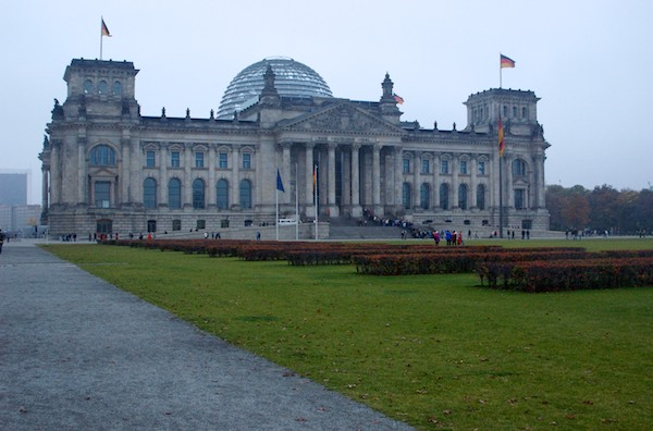 The Reichstag during a return trip to Berlin in October, 2004.
