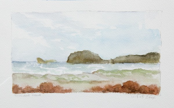Trinidad Head from Little River State Beach