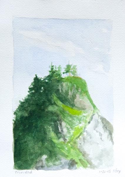 Trinidad Harbor rock